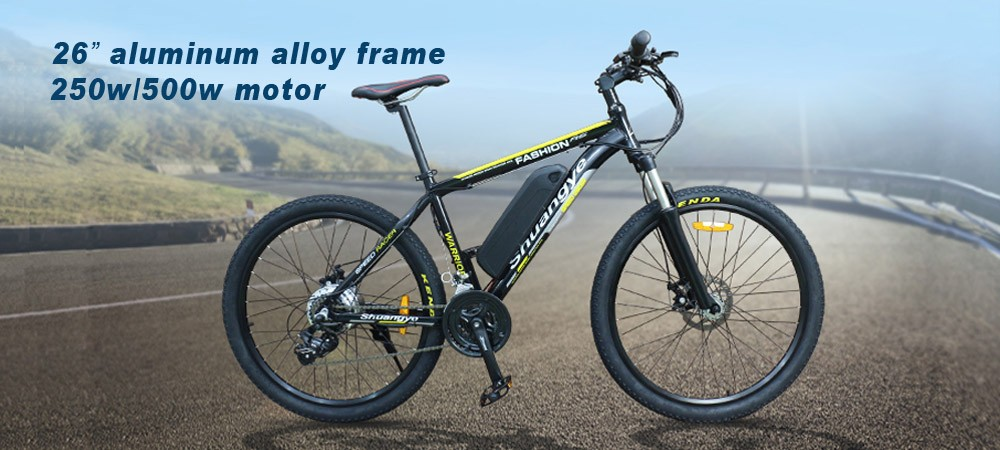 import cheap wholesale 26'' mountain electric bicycle bike