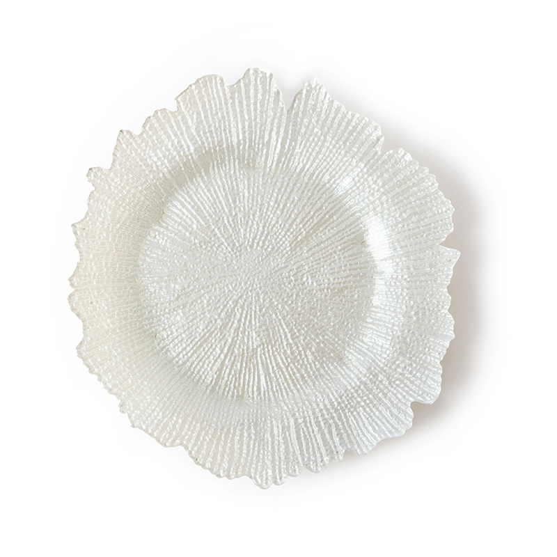 Hot Selling Sun Flower Glass Wedding Dinner Plate, Plates For Wedding, Wedding Plate Gold Plate@