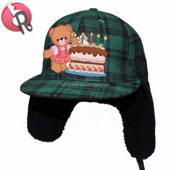 030f497b252a9 5 Panel Earflap Hat Camp Cap