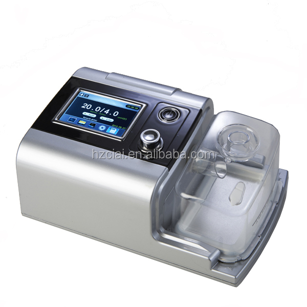 Sleep Apnea Therapeutic portable auto CPAP machine with mask, headgear, tank, tubing and filter for sleep apnea person