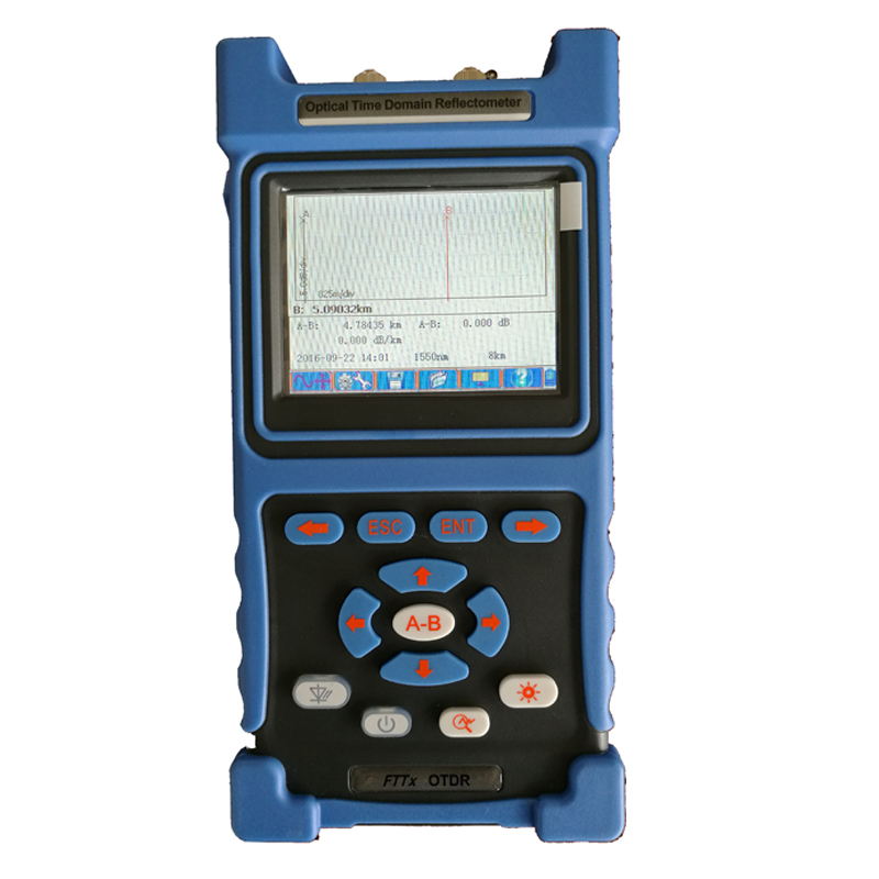 1310/1550nm 32/30dB Touch Screen OTDR Underground Fiber Optic Cable Fault Locator