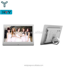 "Picture Frame foto Display Stand Com Ímã 10 ""LED Digital Photo Frame"
