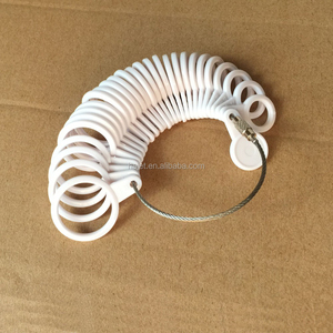 Wholesale Finger Ring Size Jewelry Tools Ring Sizer Plastic