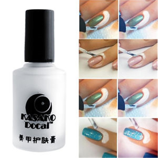 Pretty White L Off Liquid Tape Base Coat Nail Art Palisade