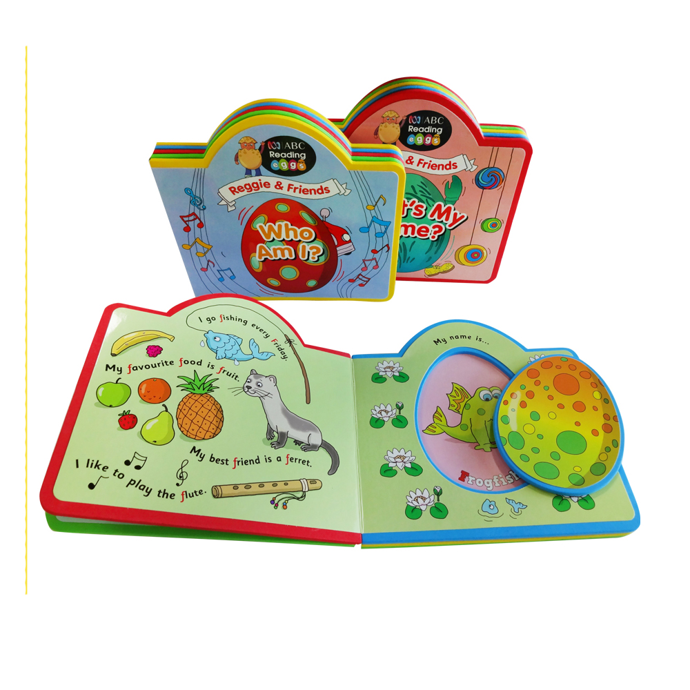China High Quality Popular Custom Kid EVA Foam Learning Book Printing on Demand Lovely Colourful Book for Kids Wholesale