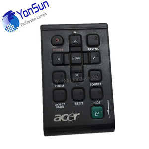 DLP/LCD spare parts projector remote contrle for Acer/hitachi/infocus remote control
