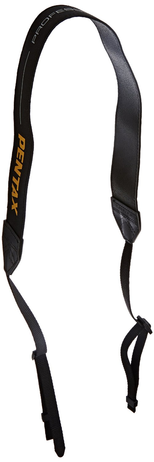 Pentax O-ST1401 Neck Strap for K-3 Digital SLR Camera (Black)