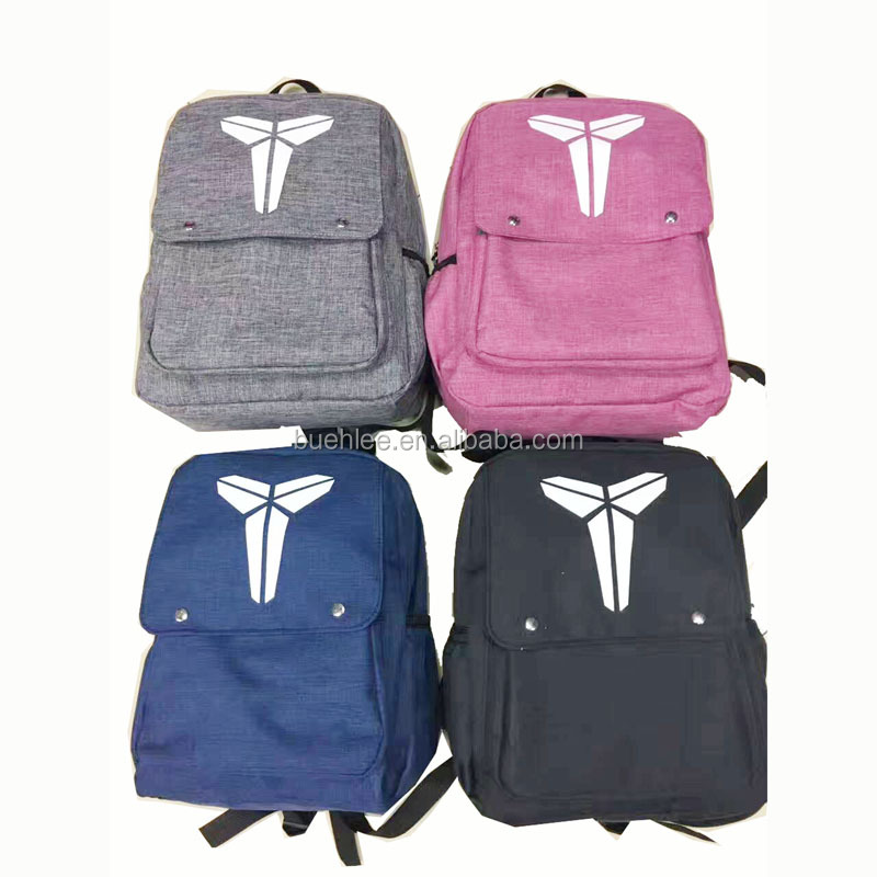 china factory offer fashion cute linen backpack with custom