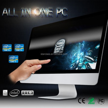 High quality industrial pc WIN 10 system LCD panel digital TFT AIO desktop pc with 8GB Memory for office home I3-6100