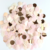 Free Samples 1 inch Rose Gold Paper Confetti Circles Tissue Party Table Confetti