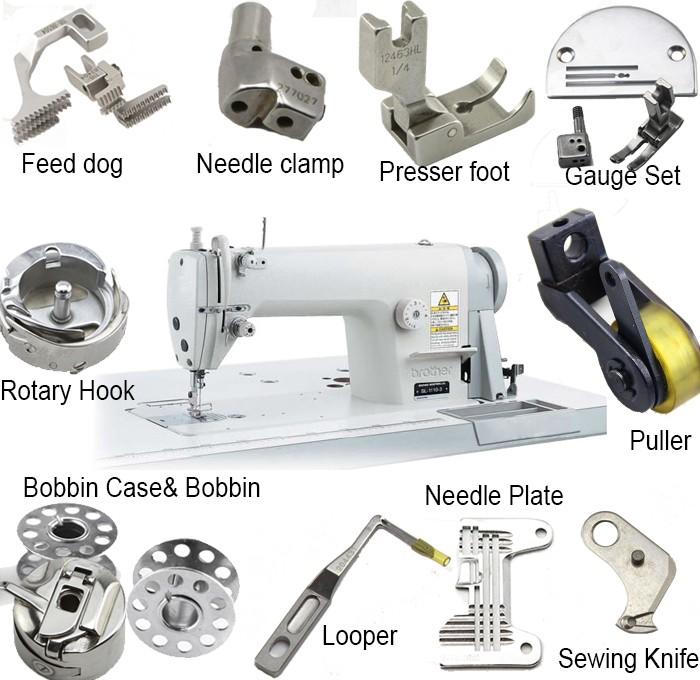 Machine Parts Product : Positioning hook bobbin case position finger for