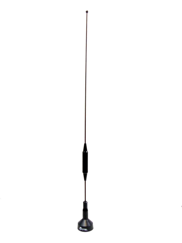 PCTEL Maxrad RGPLI Magnetic Mount NMO Type Antenna with MINI UHF Male Installed