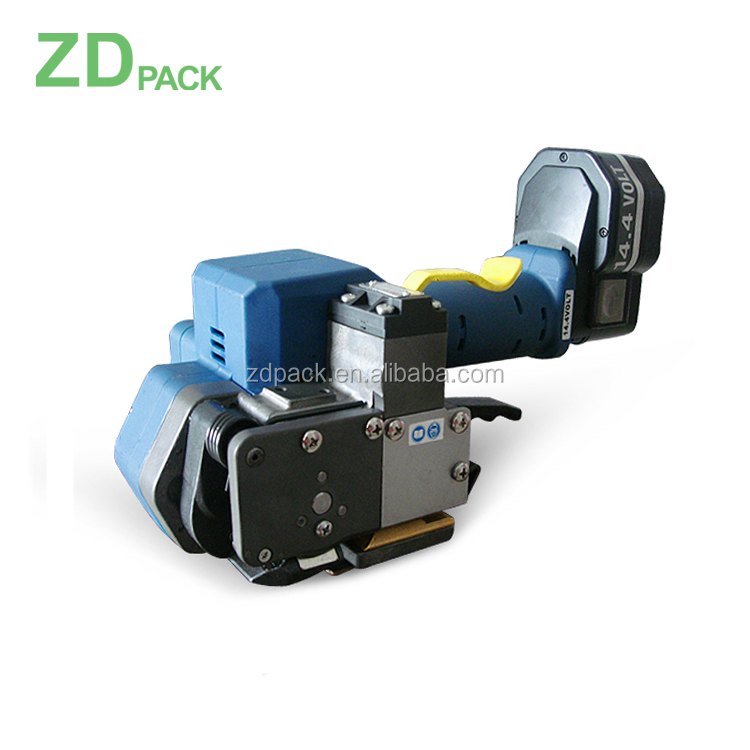 Z322 14.4V battery handheld PP/PET semi-automatic  pallet strapping machine