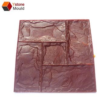 Schiefer Nahtlose Textur Stempel Matte Haut Beton Zement