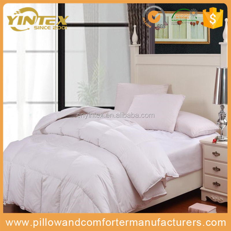 300TC Cotton Comforter Duvet Quilt for Luxury Langham Hotel and Home Use with OEM Brand
