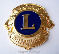 100MM custom metal car badges emblems
