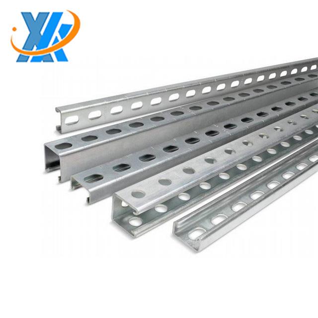 Di alta qualità puntone intaglio canale intaglio c tipo di metallo canale