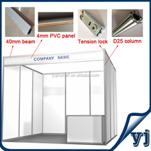 3x3x2.5 Aluminum Extrusion Trade Show Exhibition Display Booth/Trade Fair Booth Modular Display with Factory Price