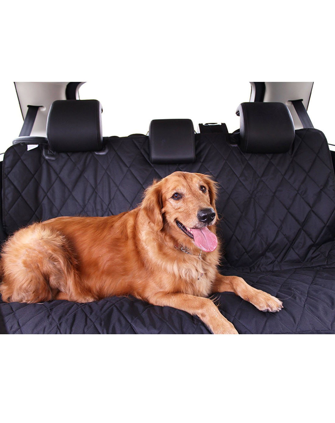 Hot koop Amazon oxford auto pet seat cover, zwarte hond auto seat cover