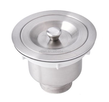 China Stainless Steel Kitchen Sink Drain Strainer Sink Basket ...