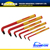 CALIBRE 6PC Extra-Long Insulated Hex Key Wrench VDE Hex Key Set