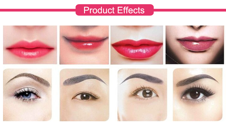 Topical Painless pain relief Gel for permanent makeup eyebrow lips