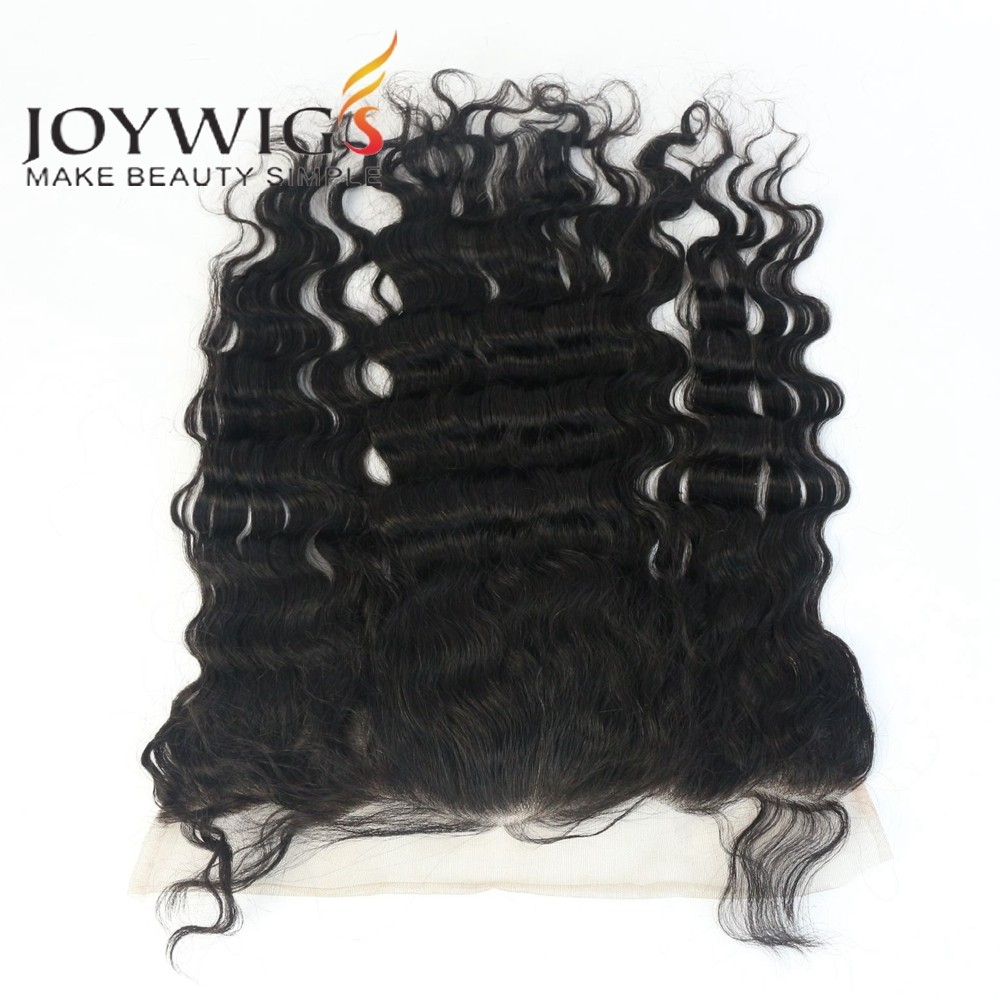 Grade 7A Malaysian Lace Frontal Closures Body wave 13x4 Free Middle 3 Part Full Lace Frontal 100%Unprocessed Virgin Human Hair