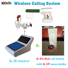 Wireless Pager System Durable Electronic Menu Holder For Restaurant Wireless Turn Signal
