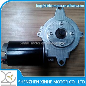 Low speed 12v 24v high torque worm gear motor for for 24v dc motor high torque low speed