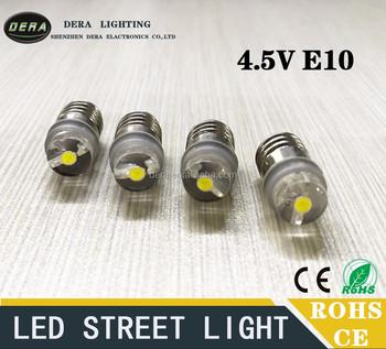 Meilleure Vente 0 5 W E10 4 5 V 5 V Led Mini Lampe De Poche