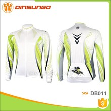 Custom long sleeve bike wear cycling clothes UV protection sublimated cycling jersey bike wear DB011