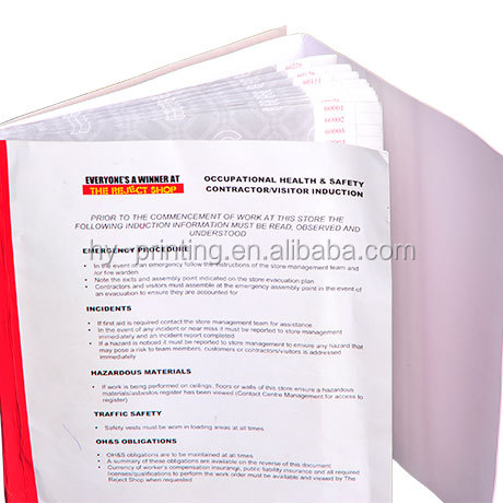 Custom Carbonless Duplicate or Triplicate Books NCR Books