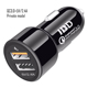 Universal Portable Mobile Phone Electric Battery Smart Fast USB Car Charger