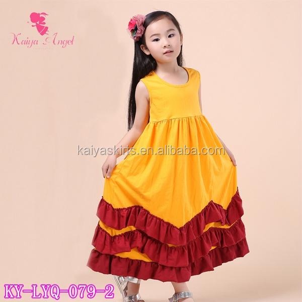 Orange Dresses for Girls