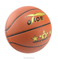 8 pannels training Size 7 PVC leather laminated basketball