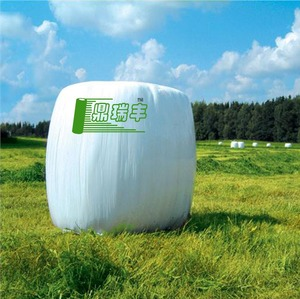 plastic bale wrap silage film for round bales