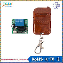 DC 12v 10A relay 1CH wireless RF Remote Control Switch Transmitter+ Receiver 433MHz