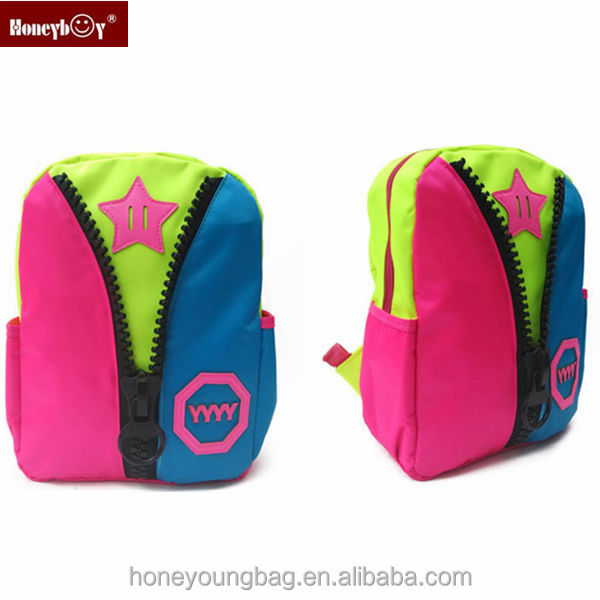 Wholesale high quality kids backpack star