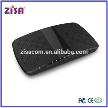 Zisa Wireless 4 Ge Ports Ftth Gpon Onu With Iptv/gpon Wifi Ont ...