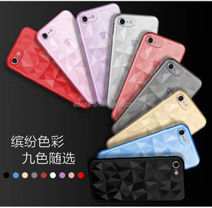 super thin diamond tpu case for iphone 8