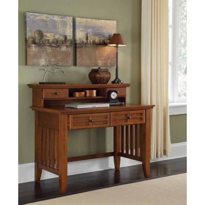 China custom solid wood furniture oak home office writing desk