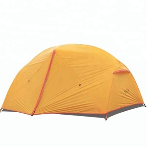 New ripstop fabric cheap price 2 person 4 season tents camping outdoor
