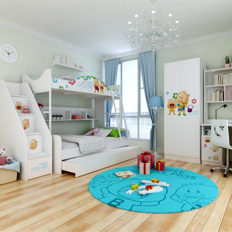 Slaapkamer kinderen slaapkamer meubelmakerij popke postma - Kamer meisje jongen ...