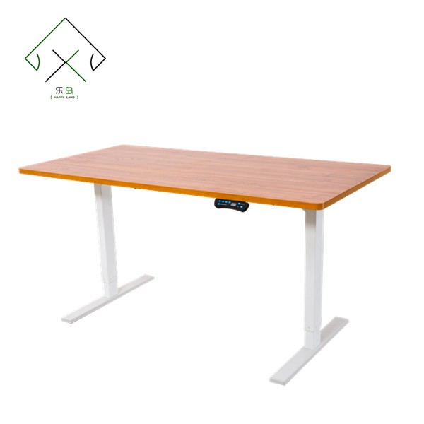 Classical furniture modern electric height adjustable office desk on wheels