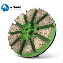 Metal Diamond Polishing Pad Grinding Disc Wet Use For Concrete Floor Polish