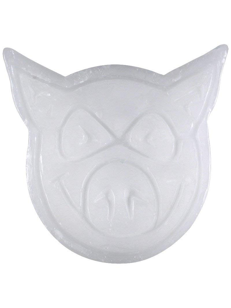Pig Head Neon Curb Wax - White