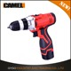 Portable 12V Russia Li-ion Battery cordless drill with BMC box/2 pcs battery/1 pcs big charger