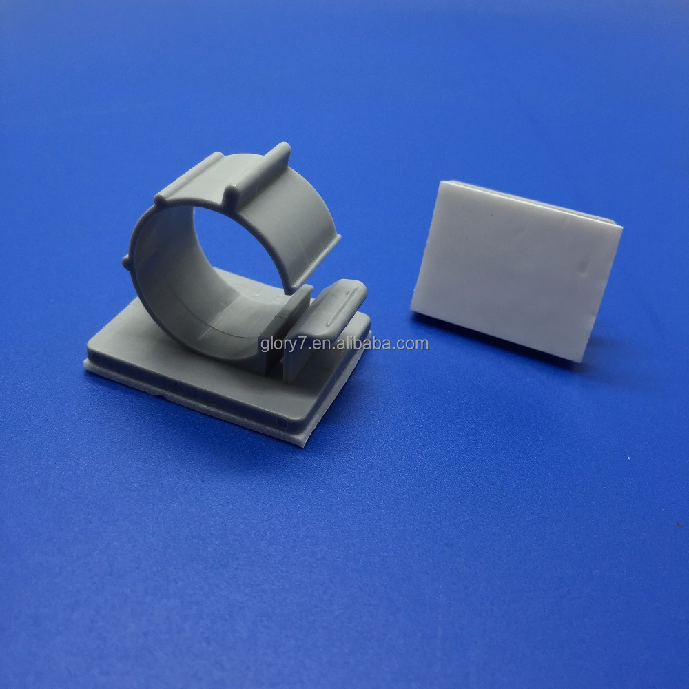 TS-0607/TS-0708/TS-0910/TS-1214/TS-1618 Wire Adjustable Cable Clips Clamps Nylon Plastic Adhesive cable holder clips