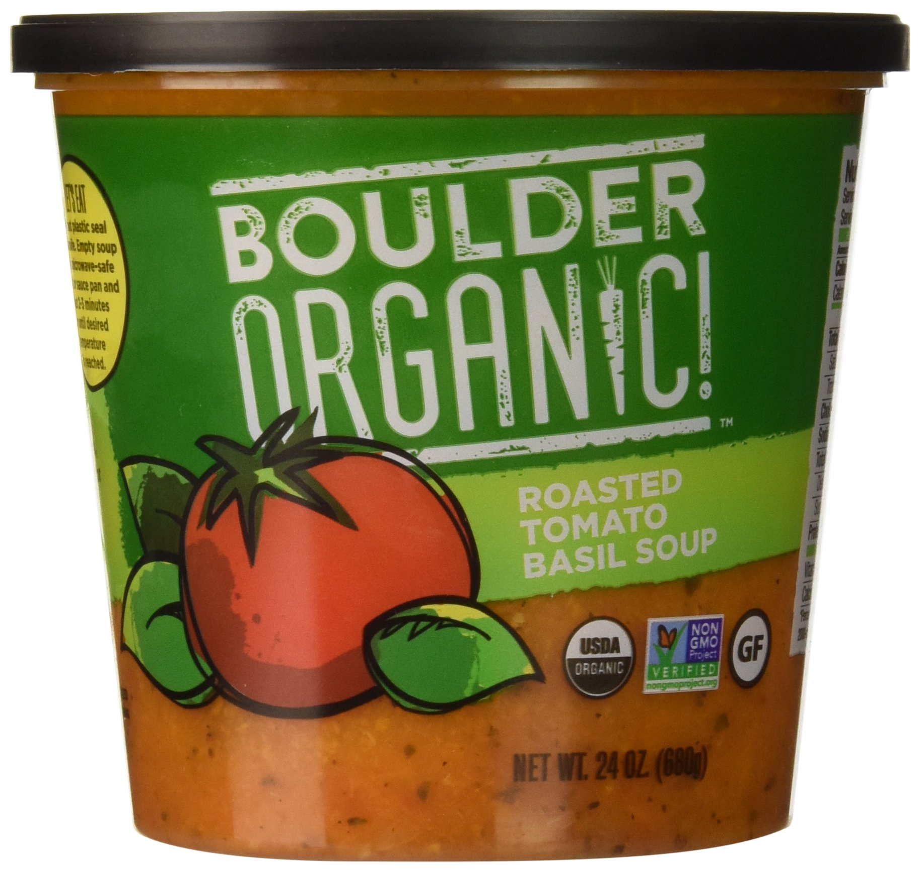 Boulder Organic! Roasted Tomato Basil Soup, 24 oz
