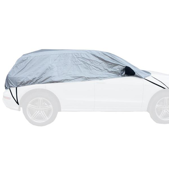 Tofern Half Size Waterproof Car Cover Top Winter Summer Car Cover XL Sedan